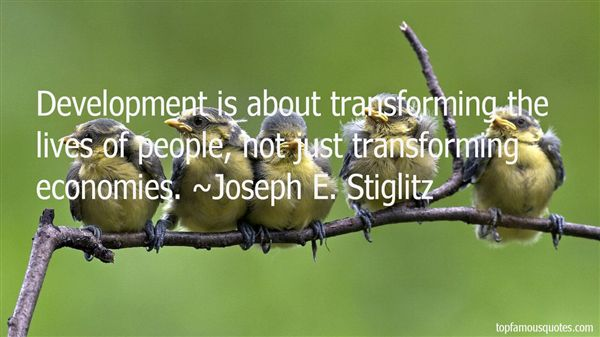 Quotes About Transforming Lives