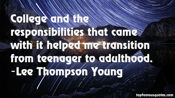 transition from childhood to adulthood Prompt: discuss an accomplishment or event, formal or informal, that marked your transition from childhood to adulthood within your culture, community, or family.
