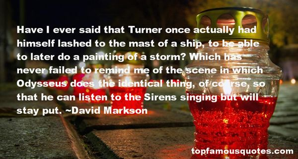 Quotes About Turner