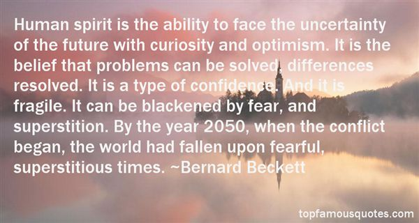 Quotes About Uncertainty And Fear