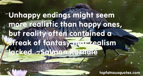 Quotes About Unhappy Endings