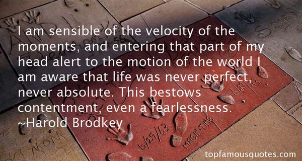 Quotes About Velocity