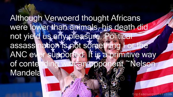 Quotes About Verwoerd