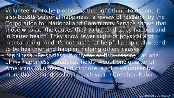 Quotes About Volunteering In The Community