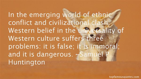 Quotes About Western Culture