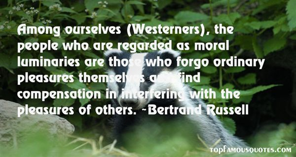 Quotes About Westerners