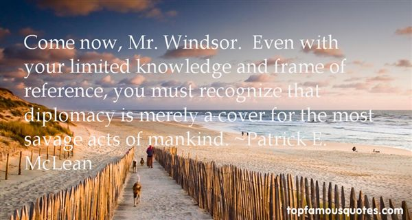 Quotes About Windsor