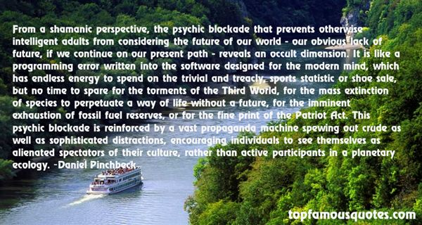 Quotes About Wise Ecology