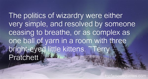 Quotes About Wizardry