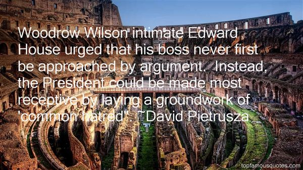 Quotes About Woodrow