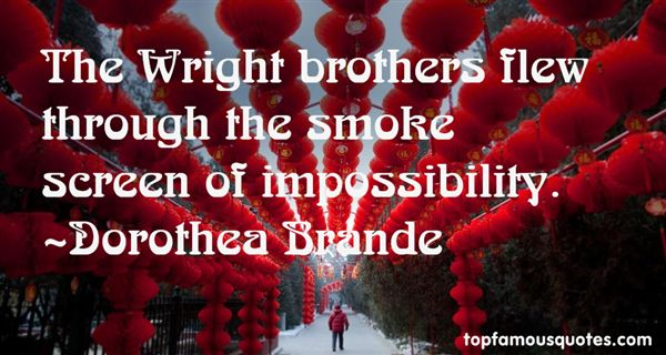 Quotes About Wright Brothers