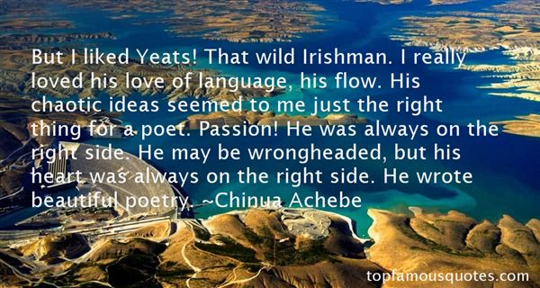 Quotes About Yeats Poetry