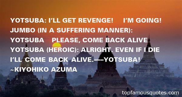 Quotes About Yotsuba