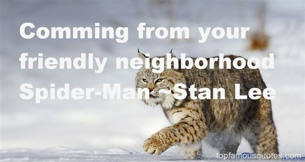 Quotes About Your Neighborhood