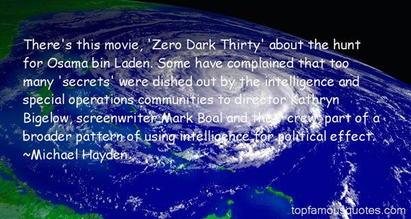 Quotes About Zero Dark Thirty