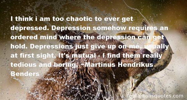 Quotes About A Chaotic Mind