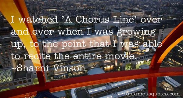Quotes About A Chorus Line