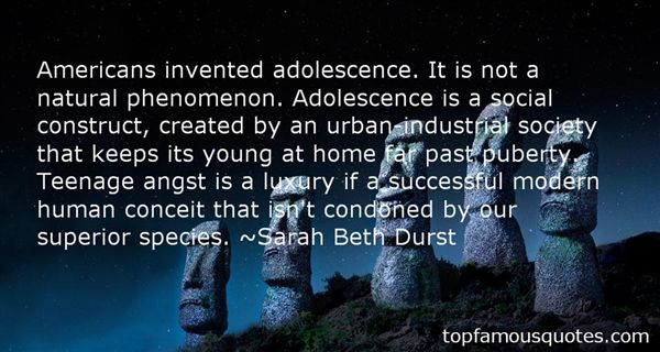 Quotes About Adolescence