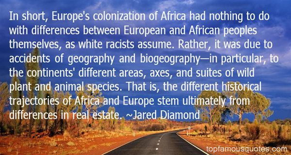 Quotes About African Continent