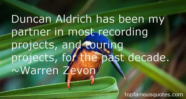 Quotes About Aldrich