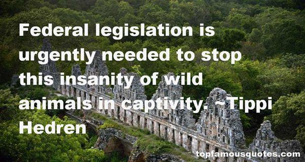 Quotes About Animal Captivity