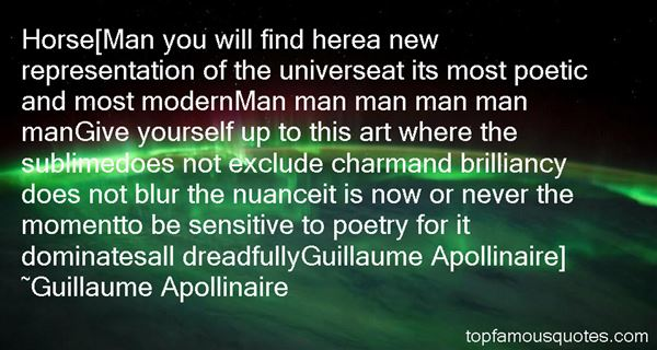 Quotes About Apollinaire