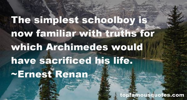 Quotes About Archimedes Life