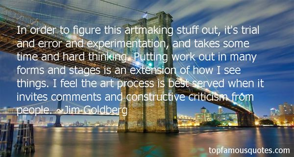 Quotes About Art Experimentation