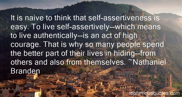 Quotes About Assertiveness