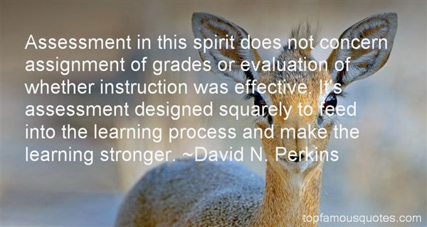 Quotes About Assessment Of Learning