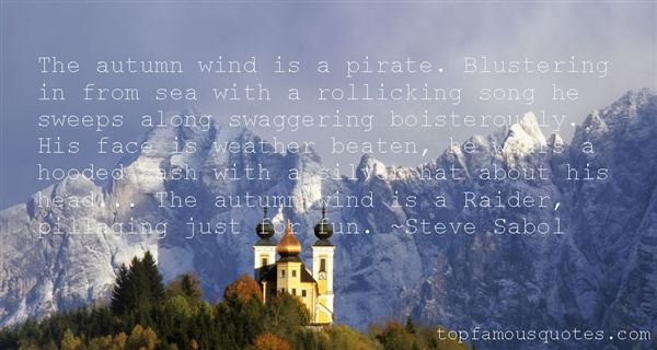 Quotes About Autumn Weather