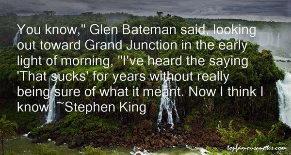 Quotes About Bateman