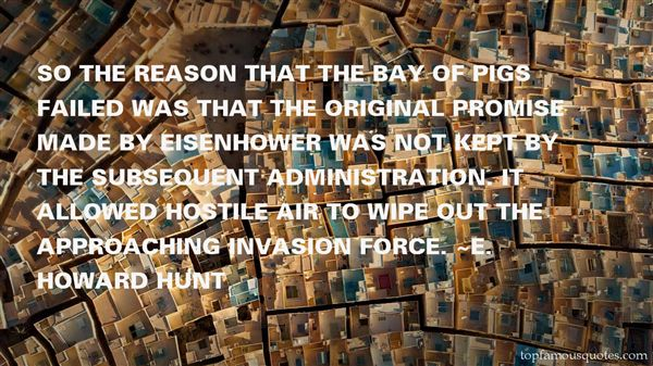 Quotes About Bay Of Pigs Invasion