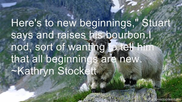 Quotes About Beginnings New