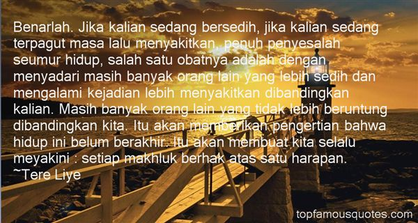 Quotes About Bersedih