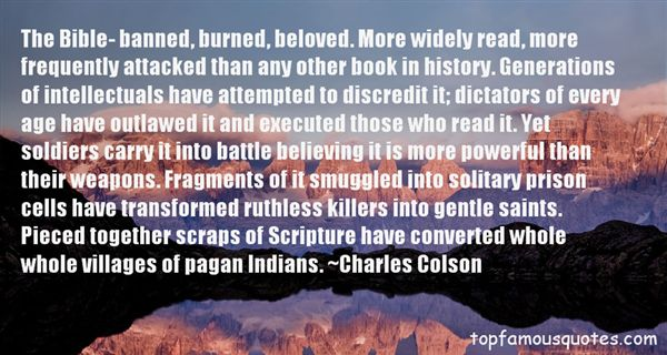 Quotes About Bible Intellect