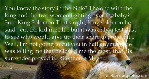 Quotes About Bible Solomon