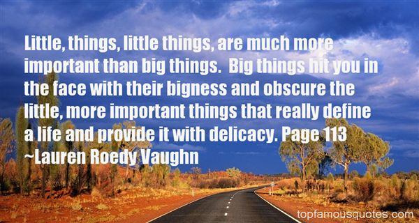 Quotes About Bigness