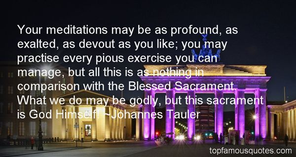 Quotes About Blessed Sacrament