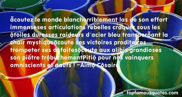 Quotes About Bleu