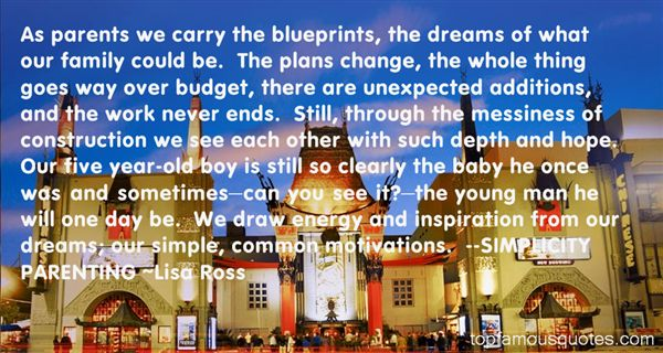Quotes About Blueprint