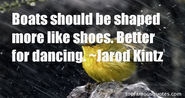 Quotes About Boat Shoes