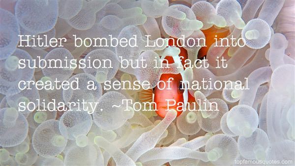 Quotes About Bombed
