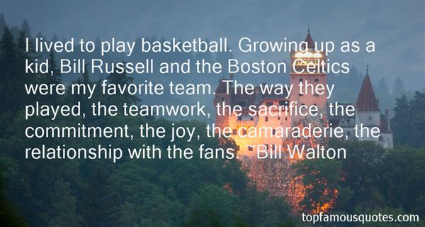 Quotes About Boston Celtics