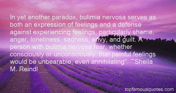 Quotes About Bulimia Nervosa