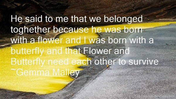 Quotes About Butterfly And Flower