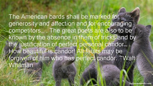 Quotes About Candor