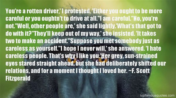 Quotes About Careful Love