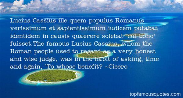 Quotes About Cassius