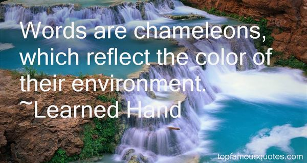 Quotes About Chameleons